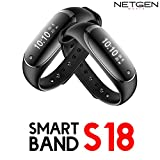 NETGEN Fitness Band With Blood Pressure Monitor Best in Class Sensors Heart Rate