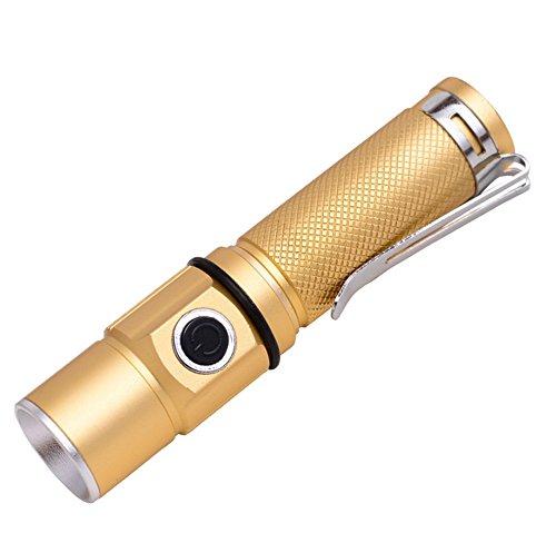 ZYPMM petite lumière LED haute puissance lampe de poche lampe de poche rechargeable lampe de poche étanche extérieur Mini lampe de poche chargeur de voiture de charge directe