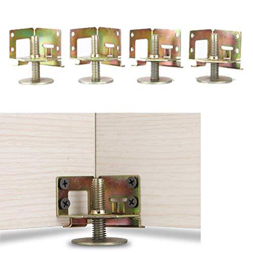 Furniture Legs Schrank Verstellbare Stutzfusse M10 Verschraubte Verstarkte Bettfuss Metall Ecke Mobelbeine Mit Schraubbefestigung