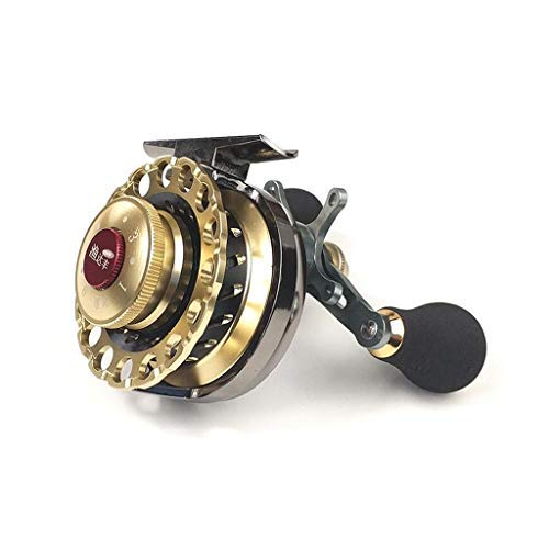 DX Angelrolle, vordere Magnetbremse Spinning 6 + 1 Bearing Metal Anchor Fish Wheel für Köder Raft Boat Ice Fishing