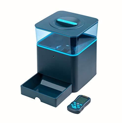 Alimentatore automatico per animali domestici, alimentatore per animali 4.5L alimentatore per telecomando senza fili per cani e gatti, alimentatore per animali Bluetooth, alimentatore automatico, adat