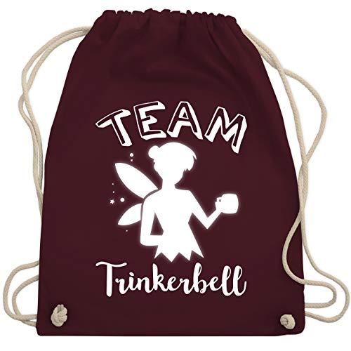 Ideen Gute Gruppe Für Kostüm Eine - Typisch Frauen - Team Trinkerbell Mädelsabend - Unisize - Bordeauxrot - WM110 - Turnbeutel & Gym Bag