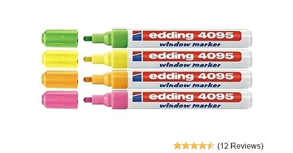 Keilspitze Schreibfarbe: rot edding® Kreidemarker 4-15 mm 4090