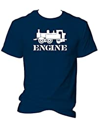 Engine Driver Steam Train T Shirt Railroad and Engineering