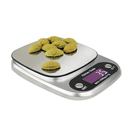 Preisvergleich Produktbild Noradtjcca 10 kg / 1 g Edelstahl Elektronische Waage für Küche Backen Schmuck Waage Hochpräzise Schmuck Waage
