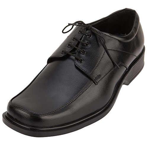 Fbt Men's 802 Black Formal Shoes - 9
