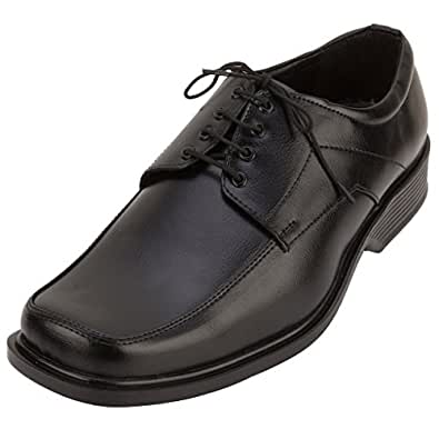 Fbt Men's 802 Black Formal Shoes - 10