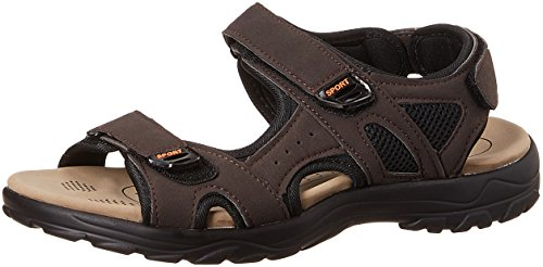 Action Shoes Men's Brown Sandals and Floaters - 6 UK/India (40 EU)(H-3103)