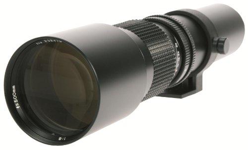 Danubia Teleobjektiv mit Lichtstärke 8,0 und Brennweite 500mm T2 Universalanschluss
