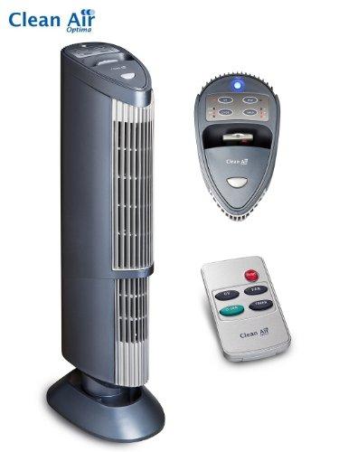 Völlig lautloser Luftreiniger Ionisator CA-401, Kein Filter Nachkauf, bis 60m²/150m³ (Nm Uv-lampe 254)