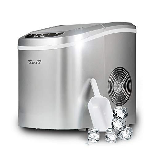 Macchina per cubetti di ghiaccio fabbricatore triniti 15 kg in 24h ice maker