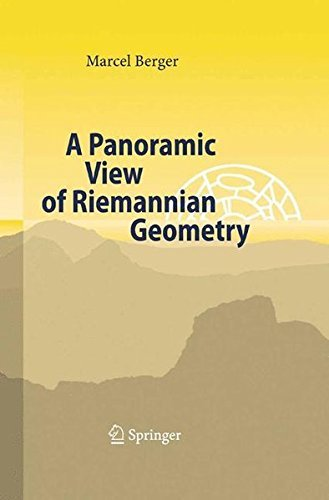 A Panoramic View of Riemannian Geometry by Marcel Berger (2007-06-29)