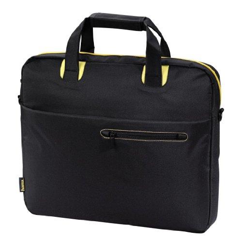 Hama San Francisco Notebook-Tasche bis 44 cm (17,3 Zoll) schwarz/gelb