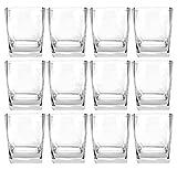 Ballantines Tumbler Whiskey Rum Glas Gläser Set - 12x Tumbler 2/4cl geeicht