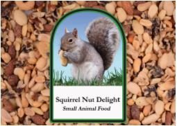 Volkman Seed Small Animal Squirrel Delight All Nut Mix Healthy Diet Food 15 lbs
