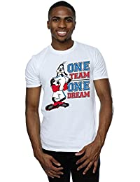 Disney Men's Goofy One Team One Dream T-Shirt
