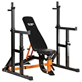 Best Olympic Weight Benches - Mirafit Semi Commercial Weight Bench & Squat Rack Review