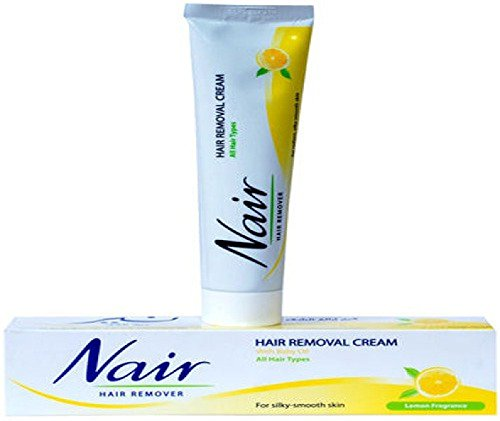 Nair Hair Removal Cream With Baby Oil Lemon Fregrance 110g