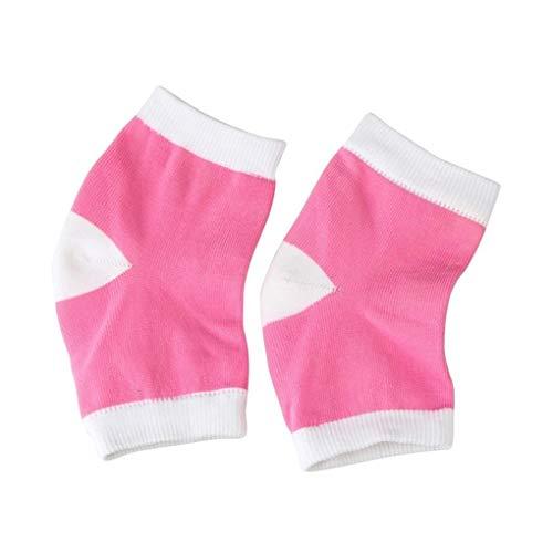 Aiming 1 Paar Moisture Heel Socks Gel-Socken-Heel Schutzhülse Moisturizing Fersenschmerzen Kissen Söckchen -