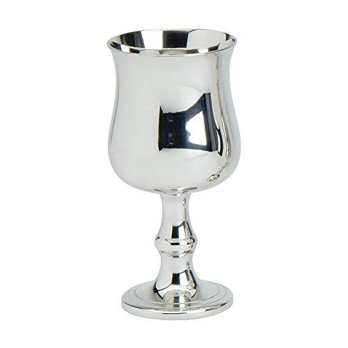 Edwin Flasque & Co géorgien Traditionnel Uni à sur Un Style géorgien en Forme de Tige, 15,2 cm, en étain