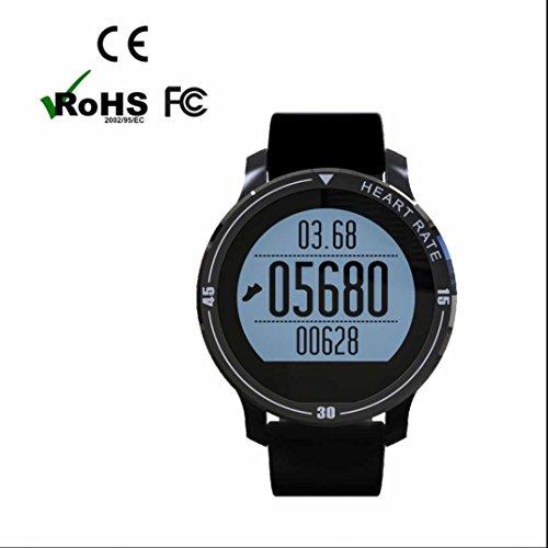 Smartband Smartwatch Sport Intelligente Uhr,Schlafanalyse/Kalorienzähler/ SMS/Aktivitätstracker Schrittzähler Aktivitätstracker Elegantes aussehen für iPhone Samsung Smartphone