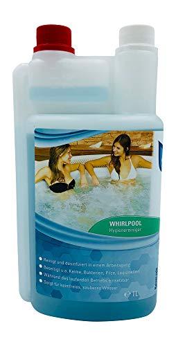 KaiserRein professional Whirlpool Desinfektion Konzentrat 1 L Hygiene Reiniger Konzentrat Desinfektion Whirlpool Badewanne Whirlpoolreiniger Whirlpool Desinfektionsreiniger Konzentrat