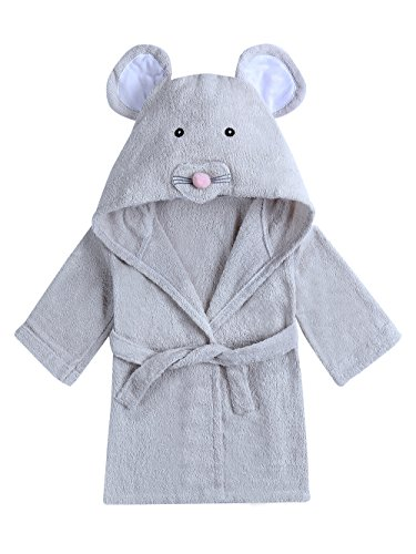 URBEAR Toalla de baño para 100% algodón Pijamas Con Capucha De Baño Para recién nacidos y bebés...