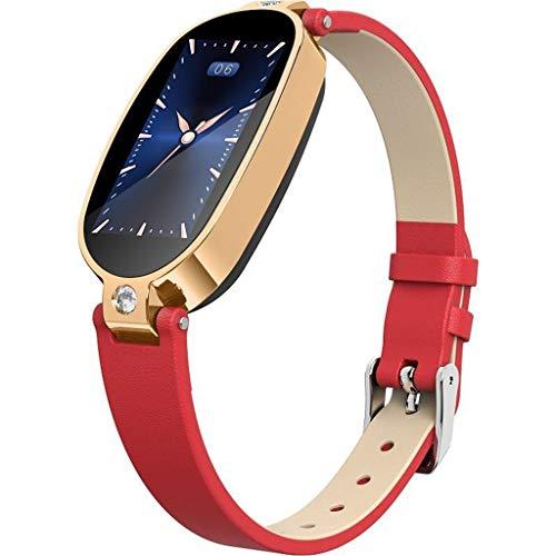Smartwatch Damen iOS und Android Uhr, Elospy Damenuhr EKG-Erkennung Kalorien Aktivitätstracker Damen elegant Fitnessarmband mit Herzfrequenz Fitness Uhr mit Schrittzähler Schlafüberwachung - Blutdruck-kontrolle Medikamente