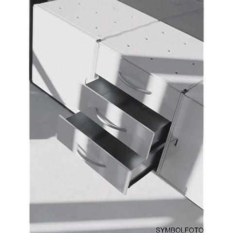 Graepel High Tech 3cajones de acero inoxidable para cubitos de base QBO o base X