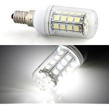 Sonline Bombilla Lampara Luz Blanco E14 7W 36 LED 5050 SMD AC 220V Bajo Consumo Casa