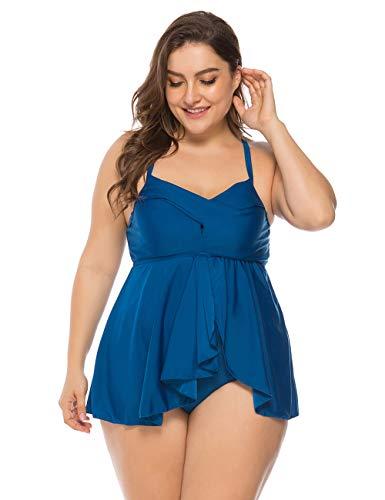 Sexy Bikini Femme Body Guide Grande Taille Tankini Push up Maillot de Bain Femme 1 Pièce 4 Couleurs