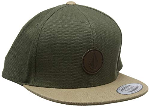 Imagen de volcom men's quarter fabric hat , hombre, army, o/s