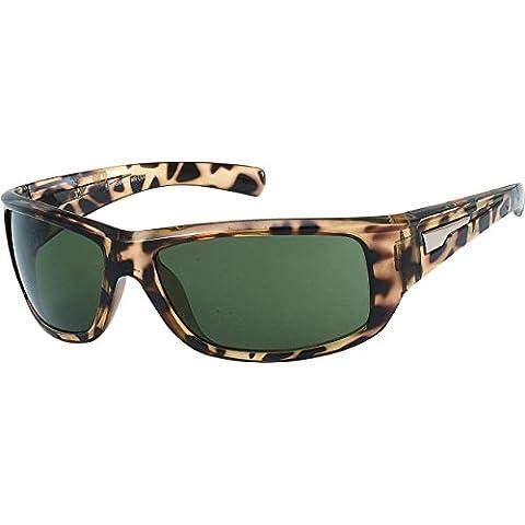 Occhiali Chic-Net Designer Sunglasses mens occhiali oscurati modelli 400UV Brown Leo