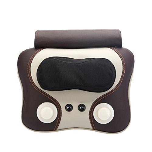 Zervikale massage Gerät Home elektrischen Körpers multifunktionale Kneten, A, Braun