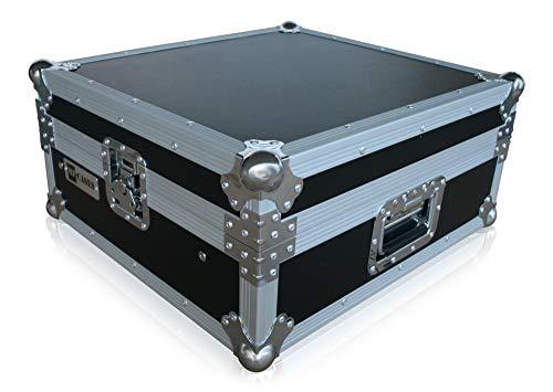 "Mixercase 10HE 19"" Butterfly Rack Flightcase Mischpult Koffer Case DJ Siderack"