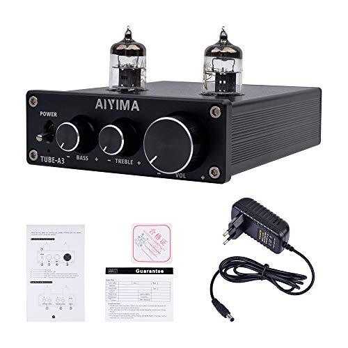 AIYIMA Audio DAC Convertidor 24BIT/192kHz óptico/coaxial/USB Convertidor de Audio Digital Amplificador estéreo preamplificador DAC decodificador para audífonos Amplificador de Altavoz