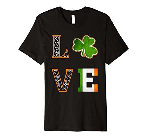 ST PATRICK Tag Shirt für Frauen, Kinder Shamrock -