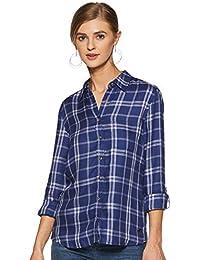 US Polo Association Women's Checkered Regular fit Shirt