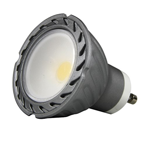 Lighted COB Ampoule LED GU10 30 K, 8 W, gris, 50 x 58 mm