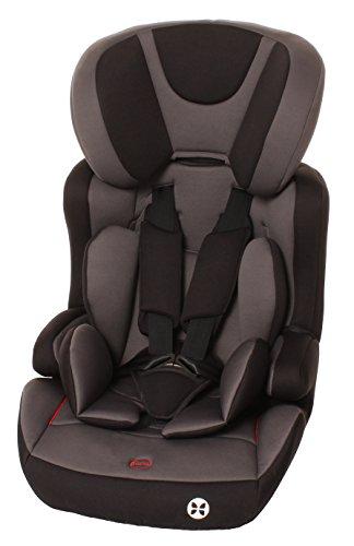 Babyblume Kindersitz Gruppe 1/2/3, 9-36kg mit Isofix - nero