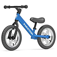 """Swagtron K3 12"""" No-Pedal Balance Bike for Kids Ages 2-5 Years 