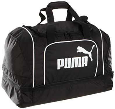 Puma Large Unisex Gym, Sports, & Everday Duffel Bags in Classic Colorway With Centered Puma Logo. Ideal for the Gym, Travel, Sports Teams, & Daily Use.