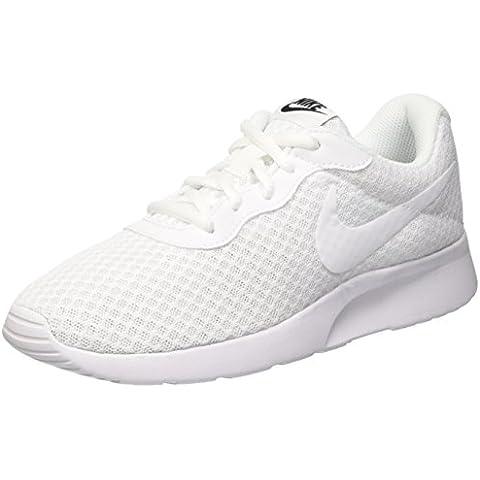Nike Tanjun - Zapatillas para mujer, color negro / blanco