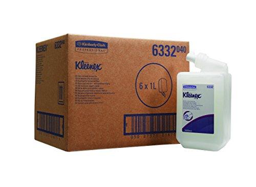Kleenex Haar- und Körpershampoo, 6 Kartuschen x 1 l, 1er Pack (6 x 1 l)