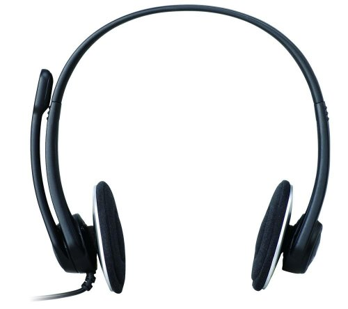 Logitech H330 Wired Headset (Black)