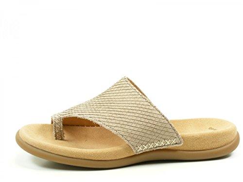 Gabor 43-700 Infradito donna, schuhgröße_1:eur 44;Farbe:beige