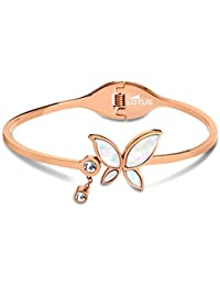 Lotus Style Pulseras Pulsera Pasador para mujer de acero inoxidable Roségold Trendy de colección jls1794–2de 2