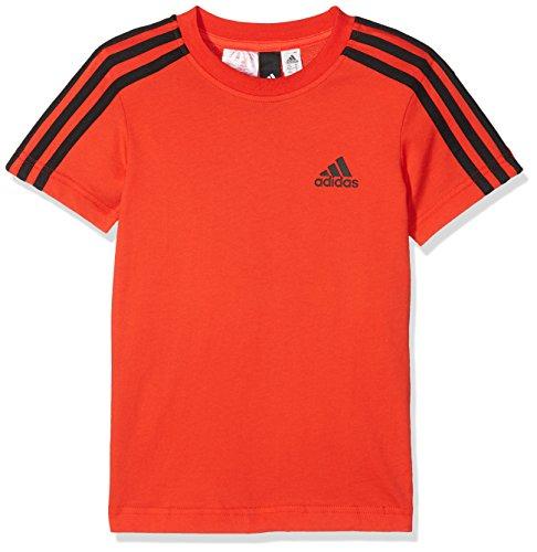 Adidas bambini 3strisce maglietta, bambini, cf6579, hirere/black, 152