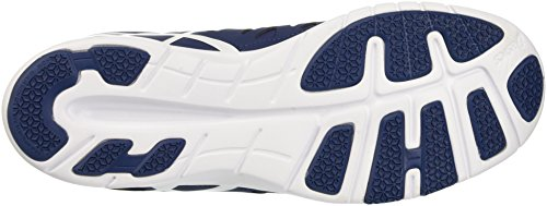 Asics Gel-fit Tempo 2, Gymnastique mixte adulte Blu (Poseidon/White/Cockatoo)