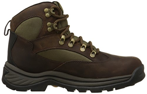 Timberland Homme di trekking di Avvio Chocorua Trail Hiker 15130 Brown medio Brown Marron (Brown W/Green)